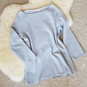 Tory Burch Rylie Gray Sweater